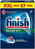 Calgonit Finish Powerball Alles in 1 Tabs, 1er Pack XXL (1 x 57 Tabs)