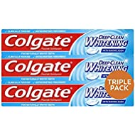 Colgate Advanced Deep Clean Whitening Toothpaste, 100 ml, Pack of 3