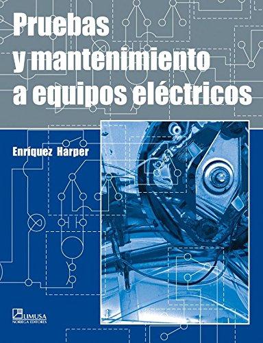 Pruebas mantenimiento equipos eléctricos