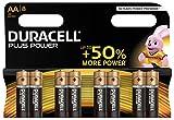 Duracell Plus Power Typ AA Alkaline Batterien