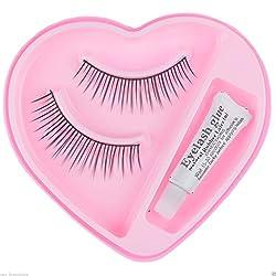 2 Pairs Black Sparse False Eyelashes Eye Artificial