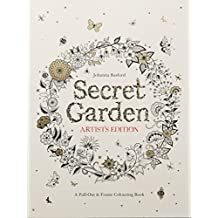 Secret Garden Artist's Edition: A Pull-Out and Frame Colouring Book by Johanna Basford (2015-09-14)