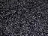 Charleston Fransen Effekt Georgette-Kleid Stoff, Meterware,