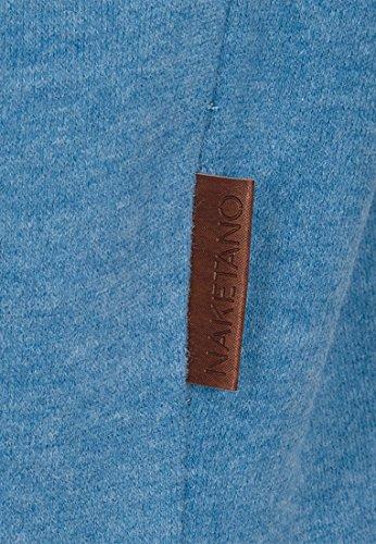 naketano femelle Sweat-shirt 2heures sikis Sport III Light Blue Melange