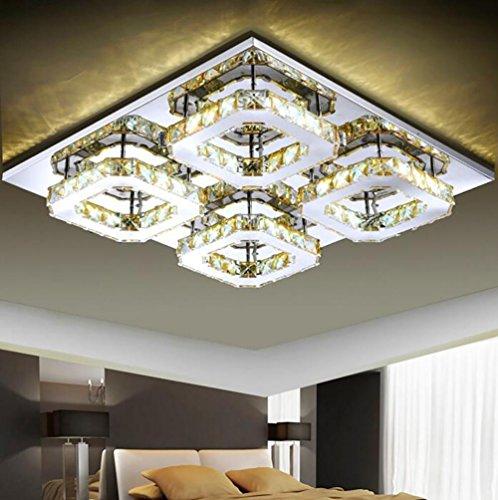Chandelier Flush Mount, Modern/Zeitgenössische Electroplated Feature für LED Metall Schlafzimmer Esszimmer Flur, 3 -
