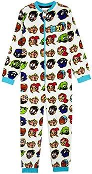 Teen Titans Go! Pijama Niño de Una Pieza, Pijamas Enteros de Superheroes, Merchandising Oficial Regalos Origin