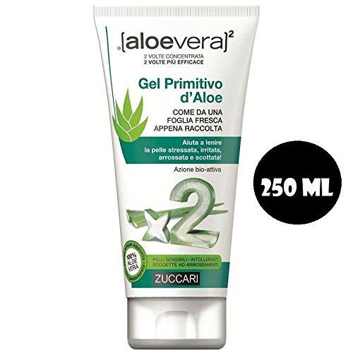 Zuccari Gel Primitivo d'Aloe Tubo - 250 ml