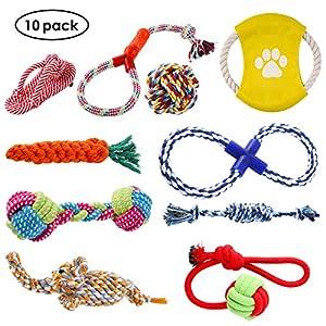 Eigenschaften: Strapazierfähiger und ungiftig: Unsere Pet Rope Toys sind aus Baumwolle reich an Ballaststoffen.Es ist sicher und ungiftig. Noch mehr Spaß und genießen: keine Angst ihr Liebling wird das Gefühl, langweilig, und es wird die Entwicklung...