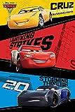 Disney Cars - 3 - Trio - Film Kino Movie Poster Plakat Druck - Größe 61x91,5 cm + 1 Ü-Poster der Grösse 61x91,5cm