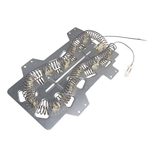 Silberne Nickel Chrom Legierung 35001247 Trockner Heizkörper Element Ersatzteil für Whirlpool Kenmore Sears Maytag Samsung -