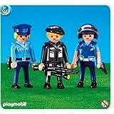 7385 - PLAYMOBIL - 3 policías