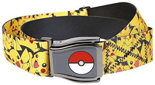 Tutto ufficiale Pokemon Pikachu aeroplano cintura con Poke Ball - unica taglia
