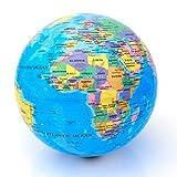 Blaue drehende Weltkugel