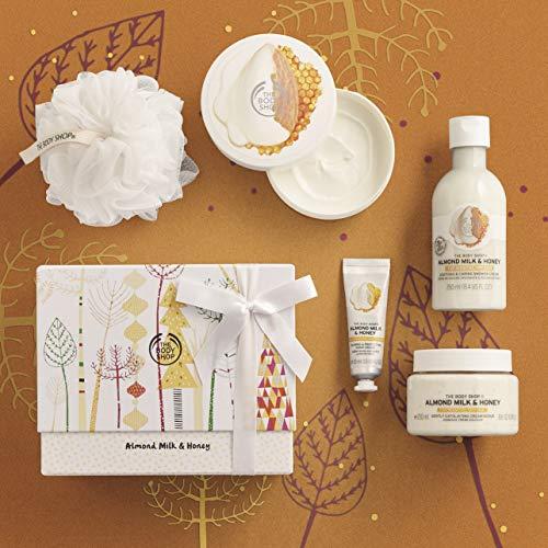 Honey Almond Body Butter (Der Body Shop Mandel Milch & Honig Wesentliche Dusche und erweichen Geschenk Set *** limitierte Auflage, beschränkte Auflage ***)
