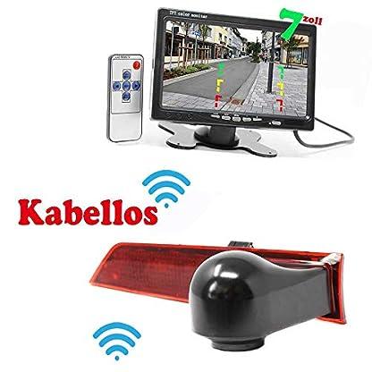 HSRpro-RFK-120-Kabellose-Funk-Rckfahrkamera-Kompatibilitts-Ford-Transit-Custom-fr-Ihr-Transporter-und-Wohnwagen-Wohnmobile-Bremslicht-inkl-Monitor