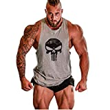Cabeen Uomo Canottiera per Palestra Canotte Tank Top Bodybuilding Muscolo Formazione Veste