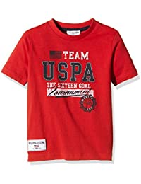 US Polo Association Team Uspa Ss, Camiseta para Niñas