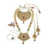 Plusencore Bollywood Mode indienne fabuleux de mariage Ensemble collier traditionnel Partywear Bijoux