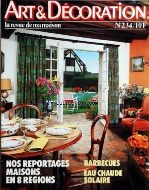 art-et-decoration-no-234-du-01-04-1982-nos-reportages-maisons-en-8-regions-barbecues-eau-chaude-solaire