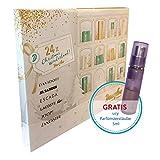 Douglas Kosmetik Adventskalender für Sie Parfum oder pflegende Beauty-Überraschung 24x Christmas Wonderland 2017 mit gratis usy Parfümzerstäuber 5ml (1stk)