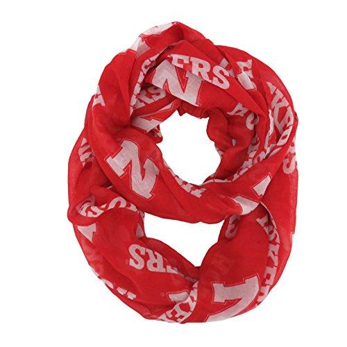 ncaa-nebraska-cornhuskers-sheer-infinity-scarf-by-littlearth