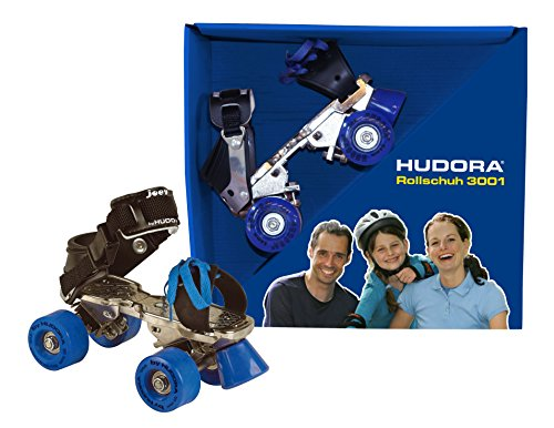 HUDORA Rollschuhe Kinder Modell 3001, Gr. 28-39 - Roller Skates, 24501