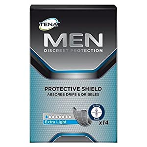 Tena Men Discreet Protection Protective Shield Extra Light – 8×14 Stück