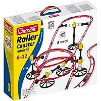 Quercetti 6430 - Mini Rail Run Rollercoaster Mármol montaña rusa con 150 piezas para construir usted mismo [Importado de Alemania]