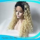 Langes Lockiges Haar Wellengold Der Damen Perücke Blonde Perücke Kopfbedeckung Art Und Weise Natürliche Volle Frauen Für Cosplay Partei
