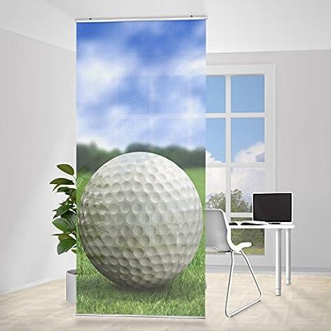 Tenda a pannello Golf Ball, Dimensione: 250x120cm, incl. staffa, tende a panello, tende a pannelli, tende moderne, tendaggi moderni, divisorio, paravento, divisorio - Golf Ball Dimensioni