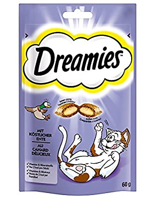 Dreamies Cat Treats with Duck, 60g