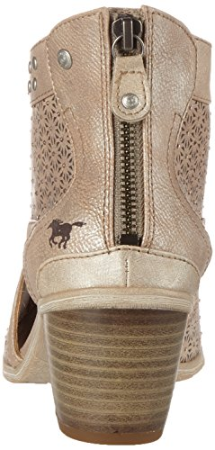 Mustang 1221-809-318, Sandales Bout Ouvert Femme Marron (318 Taupe)