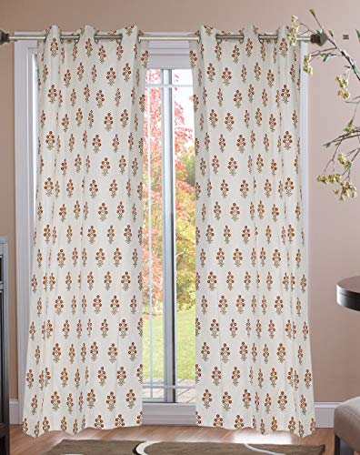 check MRP of yellow cotton curtains Jewear