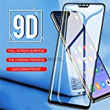 PmseK Protector de Pantalla,Vidrio Templado,9D Full Cover Tempered Glass For Y9 New Y5 Y6 Prime New Glass On Honor 7A 7C Pro RU Mate 10 Pro Lite Cristal Templado Honor 7C Pro White