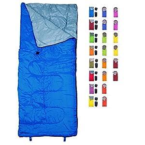 REVALCAMP Schlafsack für Drinnen & Draußen. Toll für Kinder, Jungen, Mädchen, Jugendliche & Erwachsene. Ultraleichte und Kompakte Schlafsäcke sind ideal zum Wandern, Rucksackwandern & Camping