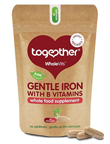 (3 Pack) Together Gentle Iron | 30 Vegecaps | 3 PACK BUNDLE