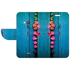 Design Worlds Nokia Lumia 535 Flip Cover Multicolor