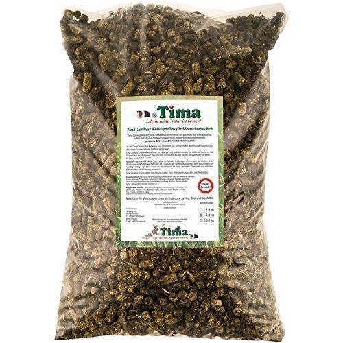 Tima Cornless Kräuterpellets (ohne Getreide) für Meerschweinchen, 5 kg