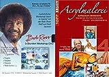 BOB ROSS 3 Stunden WORKSHOP Naß-auf-Naß Technik + Bonus DVD ACRYLMALEREI figürlich / Akte 2 DVD EDITION