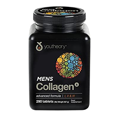 Youtheory ACM.00351.UK Collagen Advanced 1/2 and 3 Mineral Supplements for Men by Youtheory