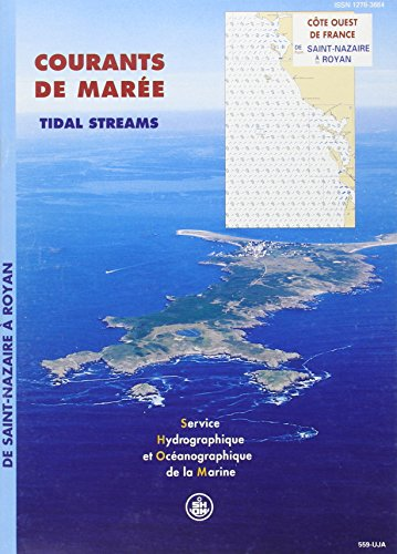 Carte marine : Courants des marées, côte ouest France