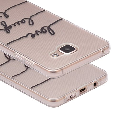 iPhone 7 Case, Per Apple iPhone 7 Cover Silicone, Asnlove Custodia Crystal Case 3D Flessible TPU Silicone Lucida Trasparente Bumper Gomma Caso Stilosa Custodia di Design in Morbido TPU Clear Back Shel Color25