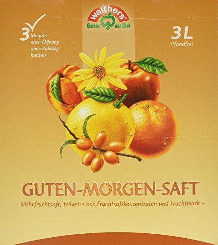 Walthers Guten-Morgen-Saft, 2er Pack (2 x 3 l Saftbox) -