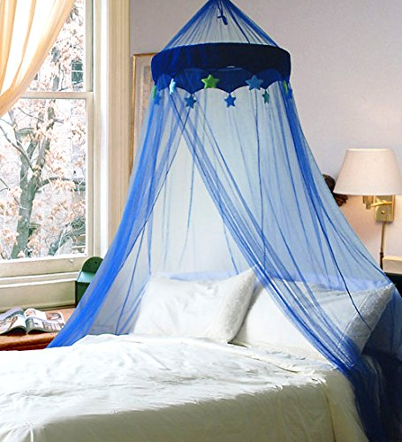 blue-in-the-night-star-bed-canopy-mosquito-net-by-leisure-bargains