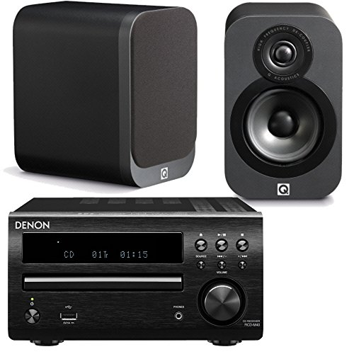 denon-dm40dab-micro-system-with-q-acoustics-3010-speakers-black-graphite