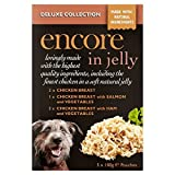 Encore Dog Jelly Pouch Deluxe Collection Multipack (5x100g) (Pack of 4)