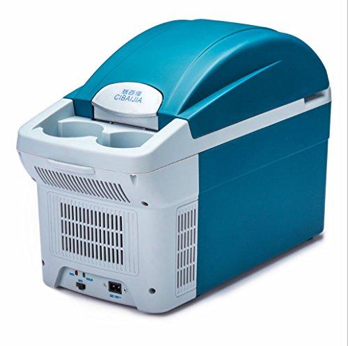 Mini-Kühlschrank 8.5 Liter Auto Kühlschrank/tragbaren Mini-Kühlschrank, 12V, intelligente Kühlung Heizung Kühler, Reisen Kühlschrank