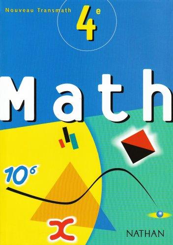 Math - Transmath 4e : Programme 98 par André Antibi