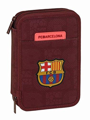 Safta Estuche F.C. Barcelona 3ª Equip 17/18 Oficial 34 Útiles Incluidos 135x45x205mm