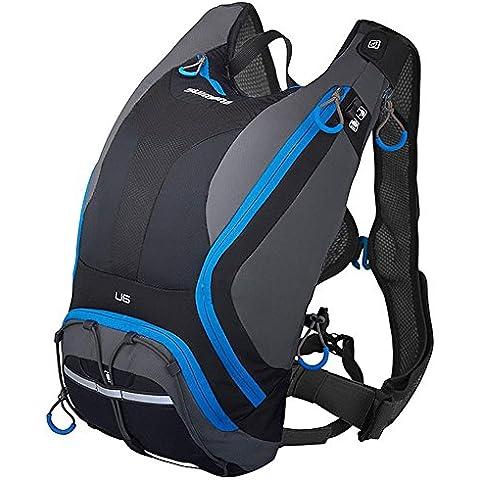 Shimano BGDPMAN206U50 - Mochila Sh Unzen 6l Negro/azul V15